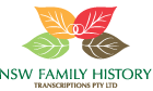 NSW Birth, Death & Marriage Certificate Transcription Agent & Others! | NSW Transcriptions